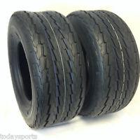 2 (TWO) 20.5x8-10 20.5x8.0-10 20.5x8.00-10 6PR Load Range C Tbls Trailer Tires