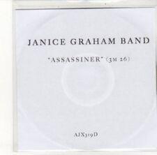 (DK137) Janice Graham Band, Assassiner - DJ CD