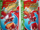 LOT OF TWO 100 GM x 2 OCEAN FREE SPECIAL GOLDFISH or TROPICAL FISH FOOD