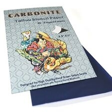 CARBONITE TATTOO STENCIL PAPER for Outline Hand Use Only Supply (20-SHEETS BOX)