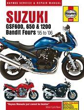 Haynes M3367 Service & Repair Manual for 1995-06 Suzuki GSF 600/650/1200