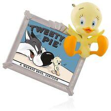 Tweey Pie 2015 HALLMARK LOONEY TUNES Ornament  Tweety Bird & Sylvester Cartoons