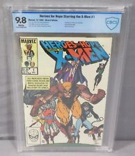HEROES FOR HOPE STARRING THE X-MEN #1 (White Pgs) CBCS 9.8 NM/MT Marvel 1985