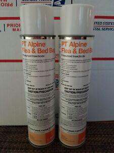 2 NEW BASF PT Alpine Flea & Bed Bug Insecticide - Presurized 20 Oz.