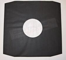 25 Pezzi - BUSTE INTERNE LP NERA CARTA + VELINA PROTEZIONE inner TOP *SAGOMATA*