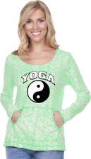 Camisas y tops de mujer de manga larga color principal verde talla M