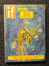 1969 March WORLDS OF IF Science Fiction Digest Magazine FN 6.0 Hugo Awards