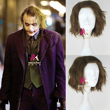 Batman The Dark Knight Joker Short Cosplay Party Wig Hair Synthetic Wigs NEW