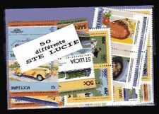 Sainte-Lucie - Saint Lucia 50 timbres différents