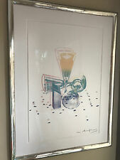ANDY WARHOL  Committee 2000 Framed Hand-signed Screenprint on Lenox Museum Board