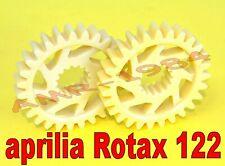 coppia INGRANAGGI CONTROALBERO APRILIA RS 125 - ROTAX 122 cod. AP0234431
