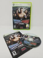 WWE SmackDown vs. Raw 2010 Featuring ECW (Microsoft Xbox 360, 2009) complete!