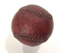 Vintage 1860's-80's Baseball Pitcher Hand Made Figure 8 Stitched Leather Ball