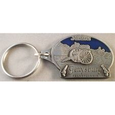 HISTORIC GETTYSBURG PENNSYLVANIA CANNON METAL KEY CHAIN NEW