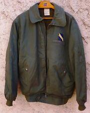 Blouson de vol Armée de l'Air PN UGECO 1980 ORIGINAL France Pilote Commando CPA