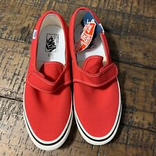 9bf231a098 Vans Slip-On 47 V DX (Anaheim Factory) OG Red NIB Size US