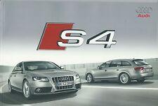2008 AUDI S4 Berlina-Avant brochure italiano 3.0 V6 TFSI quattro