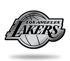 Los Angeles Lakers Logo 3D Chrome Auto Decal Sticker NEW Truck Car Rico
