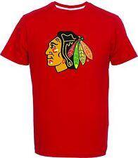 NHL T-Shirt Chicago Blackhawks Team Logo rot Eishockey