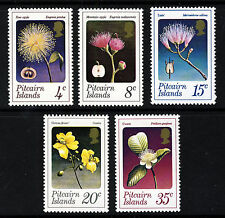 PITCAIRN ISLANDS 1973 The Complete Flowers Set SG 126 to SG 130 MNH