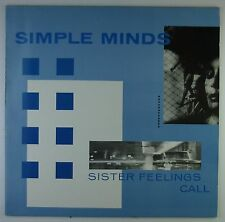 """12"""" LP - Simple Minds - Sister Feelings Call - A2480 - washed & cleaned"""