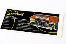 Lego Simpsons UCS Sticker for Kwik-E-Mart71016