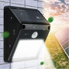 Waterproof 12 LEDs Solar Power PIR Motion Sensor Wall Garden Light Outdoor Lamp