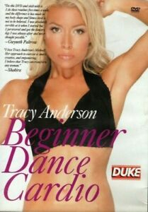 Tracy Anderson Beginner Dance Cardio Workout Exercise Fitness DVD