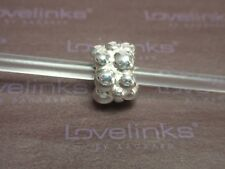 ** Genuine Lovelinks * PEBBLES Silver Charm **