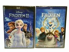Frozen 1 & 2 combo NEW DVD Family, Adventure,Now Shipping!