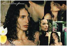 Publicité Advertising 1992 (2 pages) Parfum narcisse par Chloé