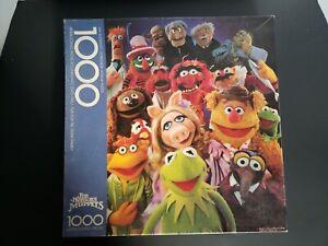 Springbok Jim Henson's Muppets 1000 Piece Puzzle Kermit The Frog Miss Piggy
