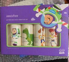 NEW Innisfree Toy Story My Perfumed Body Wash & Lotion Miniature Set TSA Approve