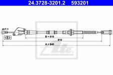 Seilzug, Kupplungsbetätigung für Kupplung ATE 24.3728-3201.2