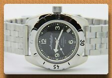 Diver watch 200 m. russian military VOSTOK AUTO AMPHIBIAN # 150344 NEW