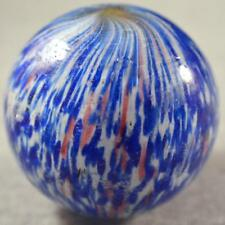 "GIANT EARLY GERMAN END of DAY SPECKLED ONIONSKIN MARBLE 2 1/4"" (2.255"")"