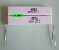 2X 1.0 Ohm 10 Watt 10w Resistors 1.0 Ohm 5% (2 10W Resistors)  1 Ohm ON SALE!!