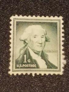 RARE Vintage George Washington One 1 Cent Stamp US Postage.