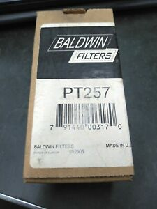 Baldwin PT-257 Hydraulic Filter NOS Made in USA