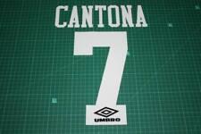 Manchester United 92/96 #7 CANTONA HomeKit Nameset Printing