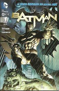 BATMAN n°1 - edizione in lingua spagnola - i nuovi 52 - ECC DC COMICS