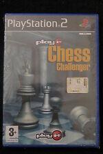 PS2 : PLAY IT CHESS CHALLENGER - Nuovo, risigillato! Migliore scacchi di sempre!