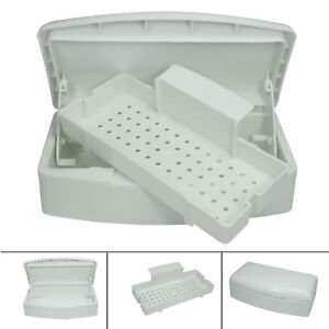 White Tool Pro Sterilizer Tray White Sterilizing Clean Cleaning Nail Art Tools