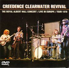 CREEDENCE CLEARWATER REVIVAL Royal Albert Hall Concert/Live In Europe/Tour 1970