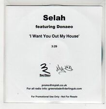 (FF155) Selah ft Donaeo, I Want You Out My House - DJ CD