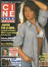 CINE REVUE 1992 N°15 michele morgan kim basinger philippe noiret thiessen
