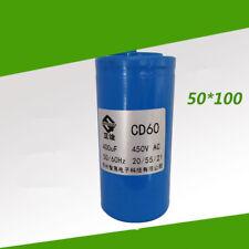 1pcs Capacitor CD60 400UF 450V cement mixer crane single-phase motor