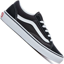 371583a3b0 VANS Old Skool Vn000w9t6bt Black True White Canvas Casual Shoes Medium  Youth Blacks 12.5