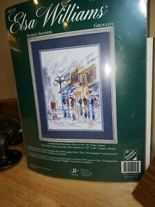 ELSA WILLIAMS 'SUDDEN SHOWERS' 02153 COUNTED CROSS STITCH NEW SEALED