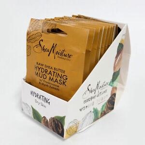 SheaMoisture Raw Shea Butter Hydrating Mud Mask, 12-Pack